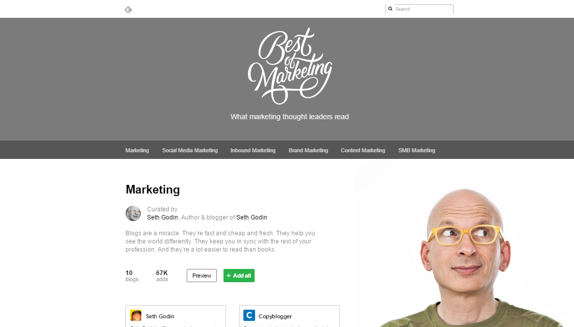 feedly-marketing-thought-leaders